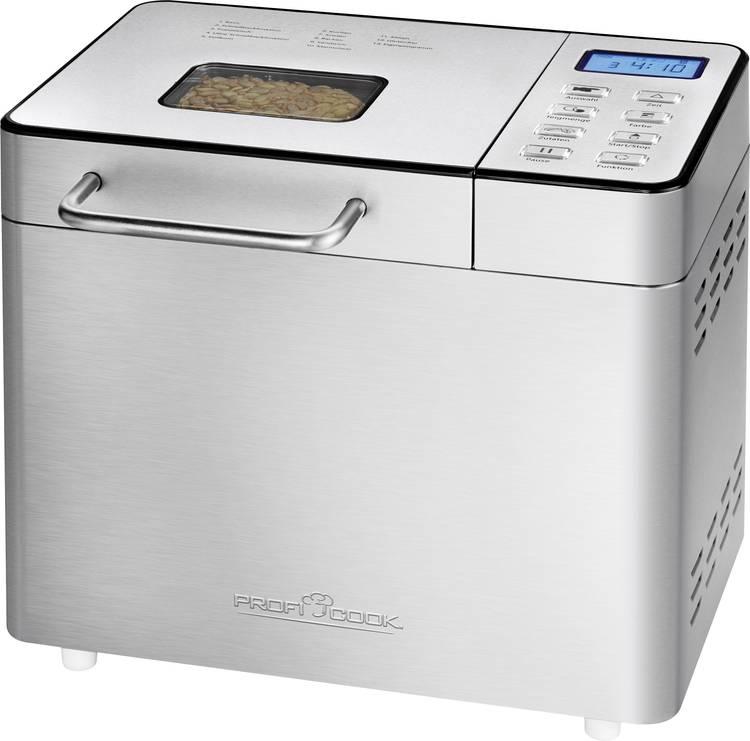 Image of Profi Cook Broodbakmachine PC-BBA 1077 met display RVS