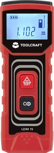 Laserafstandsmeter TOOLCRAFT LDM 15 J Meetbereik (max.) 15 m Kalibratie mogelijk: Zonder certificaat