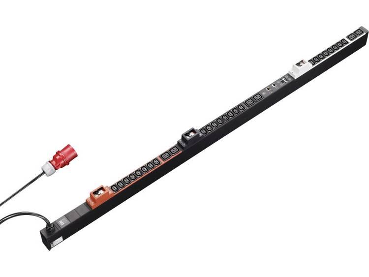 Rittal 7955.333 19 inch Patchkast-stekkerdoos Apparaatcontactdoos C13 10A, Apparaatcontactdoos C19 16A Zwart