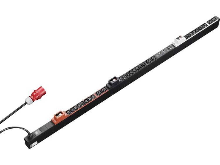 Rittal 7955.433 19 inch Patchkast-stekkerdoos Apparaatcontactdoos C13 10A, Apparaatcontactdoos C19 16A Zwart