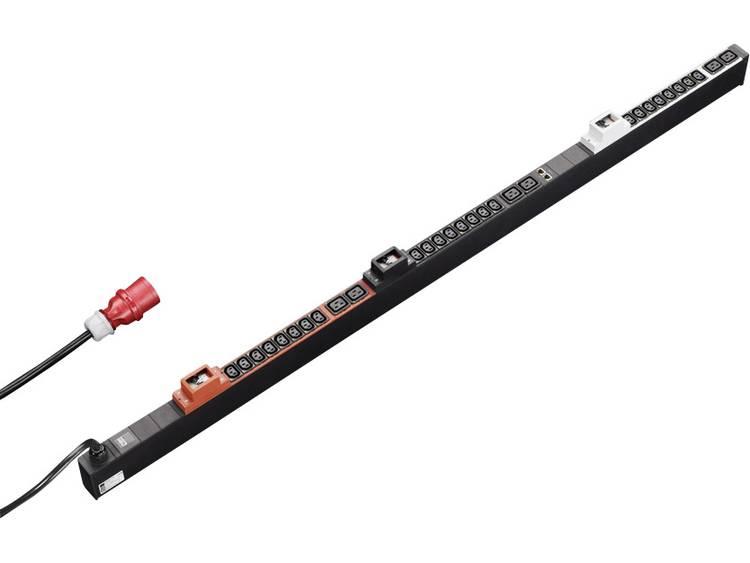 Rittal 7955933 19 inch Patchkast-stekkerdoos Apparaatcontactdoos C13 10A, Apparaatcontactdoos C19 16A Zwart