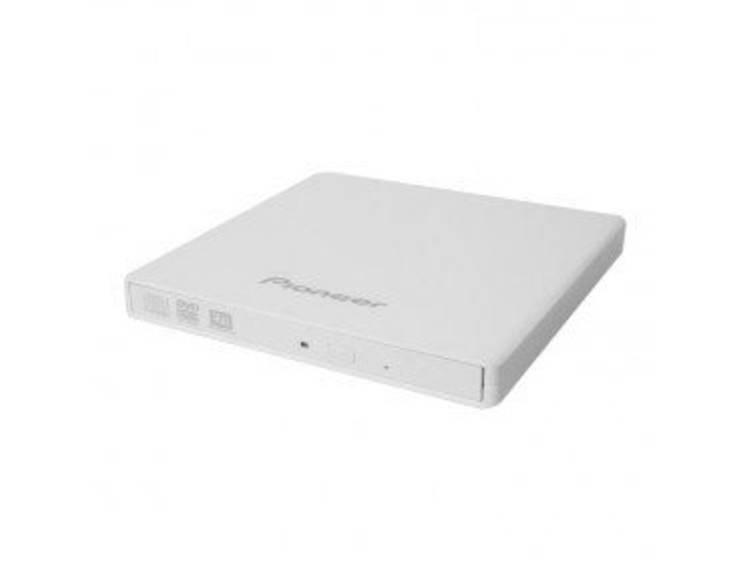 Pioneer DVR-XU01W Externe DVD-brander Retail USB 2.0 Wit