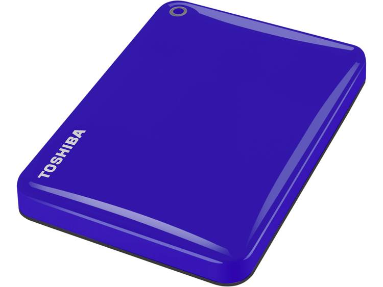 Toshiba Canvio Connect II 3 TB Externe harde schijf (2.5 inch) USB 3.0 Blauw