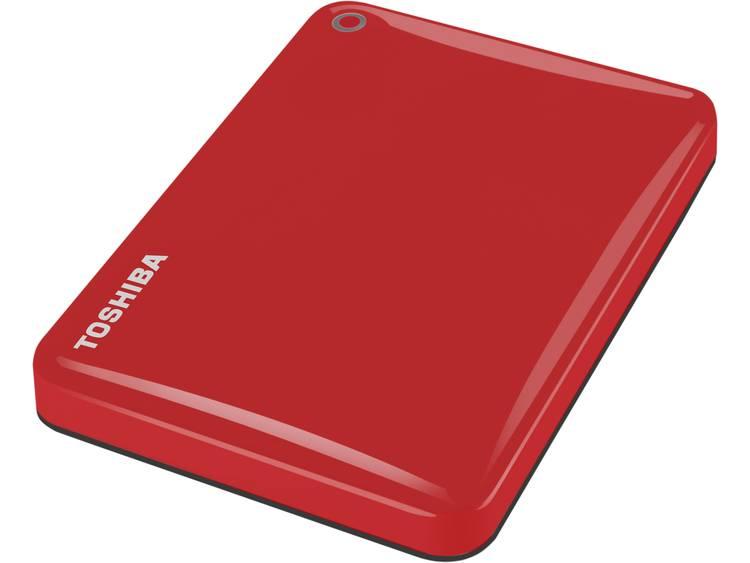 Toshiba Canvio Connect II 2 TB Externe harde schijf (2.5 inch) USB 3.0 Rood