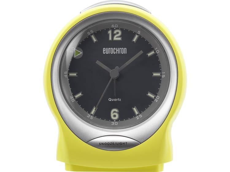 Wekker Quarz Geel Alarmtijden: 1 Eurochron EQW 7500
