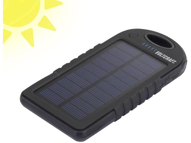 VOLTCRAFT 4268c6 SL-10, Li-Po 5000 mAh Solarlader SL-10 5 V