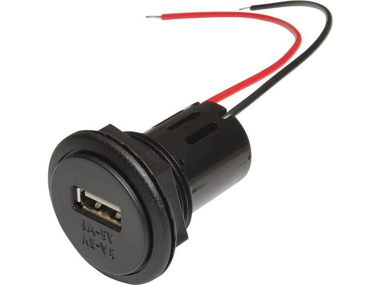 ProCar 67331501 Power USB inbouwstopcontact Stroombelasting (max.) 3 A Geschikt voor USB A