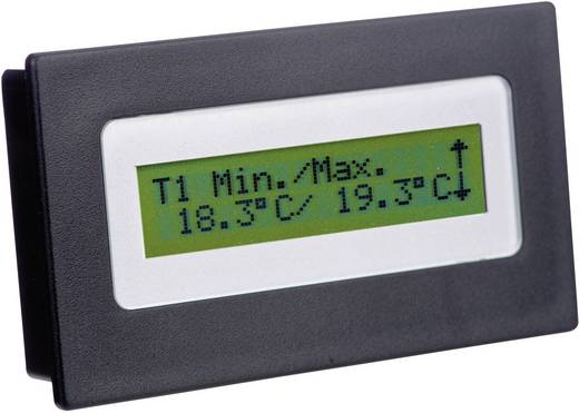 Frontframe Zwart Geschikt voor: LCD-display 16 x 2 (b x h x d) 91 x 53 x 20 mm Kunststof H-Tronic FR 216