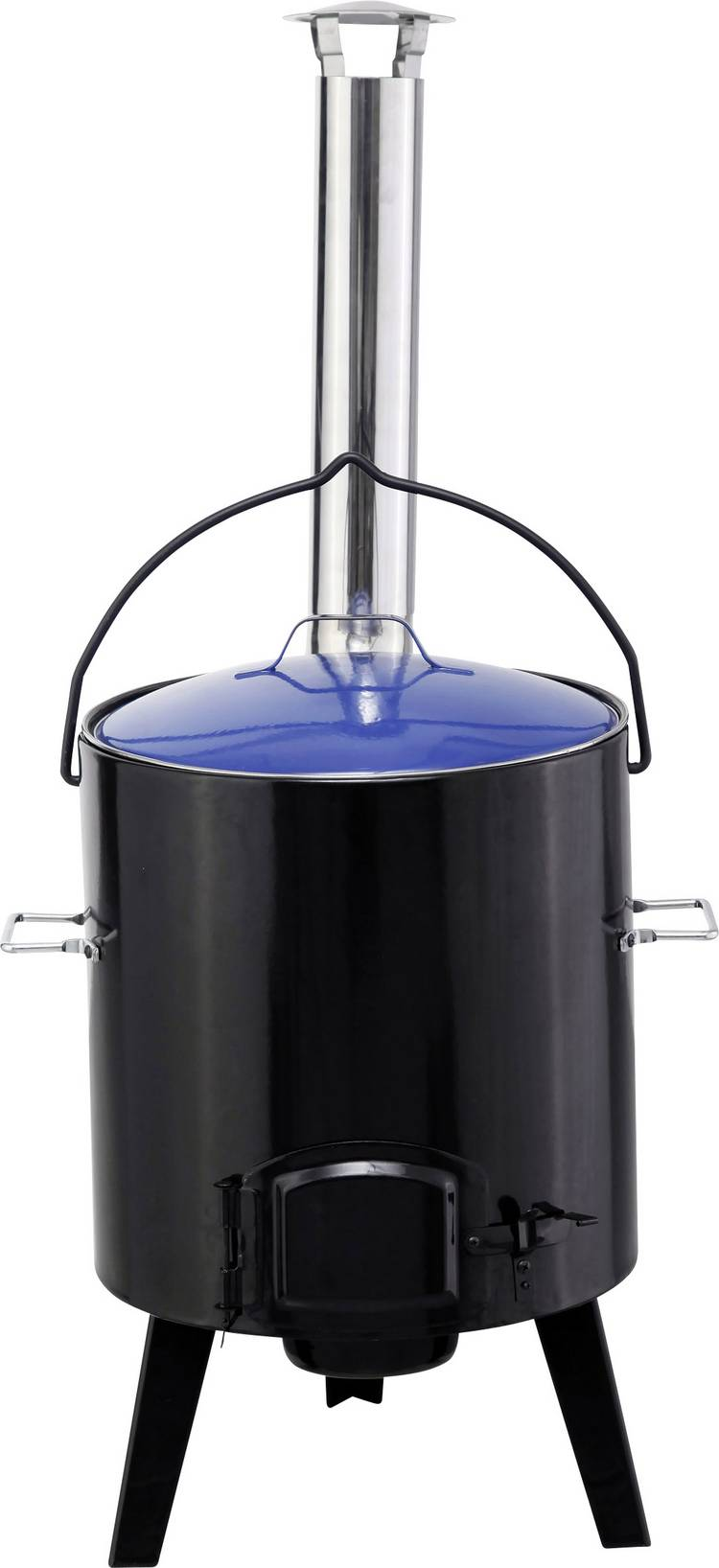 Image of Barbecue tepro Garten Waverly Stoof Zwart-blauw