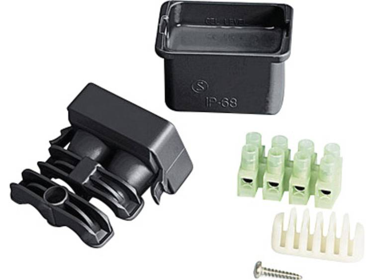 Kabelmof Kabel-Ã: 8 - 10 mm Relicon by HellermannTyton 435-01654 RELILIGHT V41 U1 PA66V0 BK10 Inhoud: 1 set