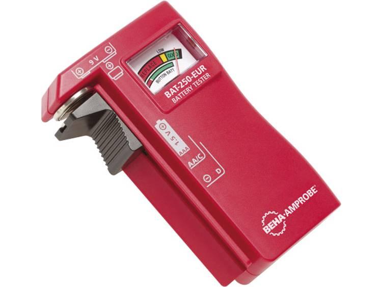 Beha Amprobe BAT-250-EUR Accutester Analoog Ronde batterijen, 9 V-batterijen (blok)