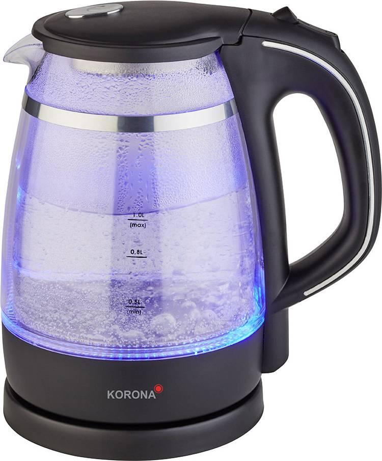 Image of Korona 20610 Waterkoker Snoerloos Zwart