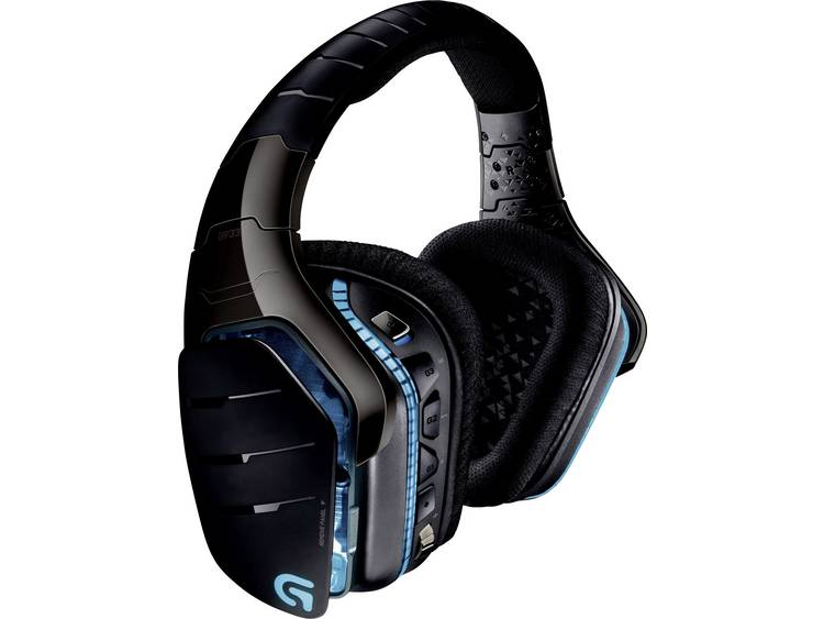 Logitech Gaming G933 Artemis Spectrum Gaming headset USB, 3.5 mm jackplug Draadloos Over Ear Zwart