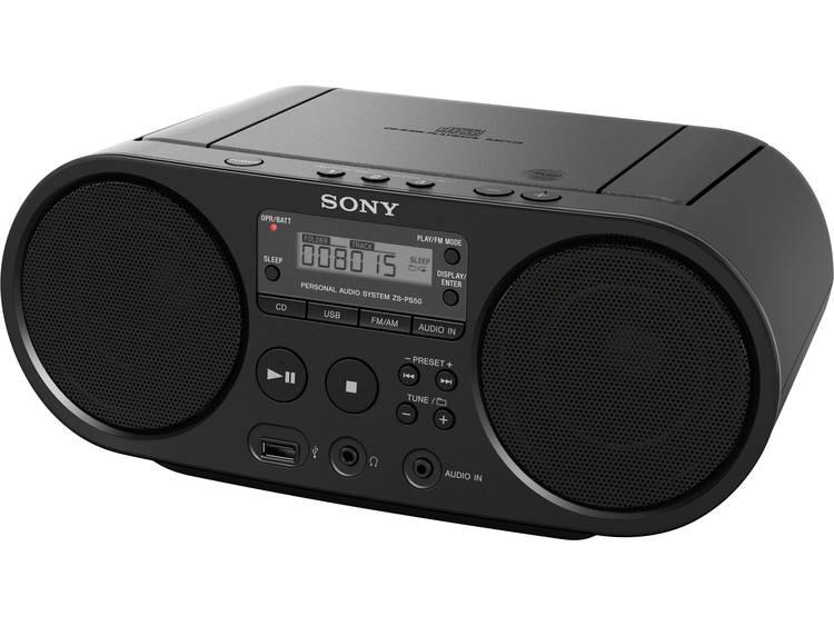 Sony Sony ZS-PS55B zwart (ZSPS55B)