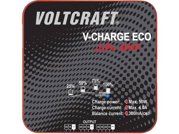 VOLTCRAFT Modelbouw oplader 230 V 400 mA Li-poly