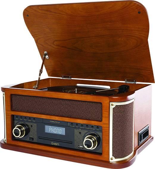 Wonderbaar USB-platenspeler ION Audio Complete LP Belt drive Hout | Conrad.nl NT-43