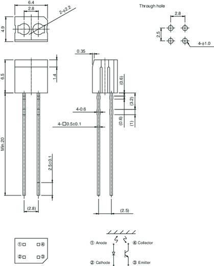 ROHM Semiconductor RPR-220 Objectsensor 1 stuks