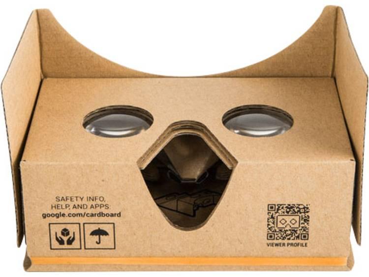 Google Cardboard 3D voor smartphones V2 Virtual Reality bril
