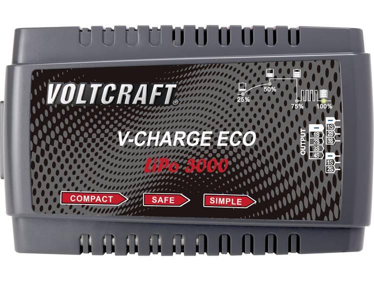 VOLTCRAFT V-Charge Eco LiPo 3000 Modelbouw oplader 230 V 3 A Li-poly