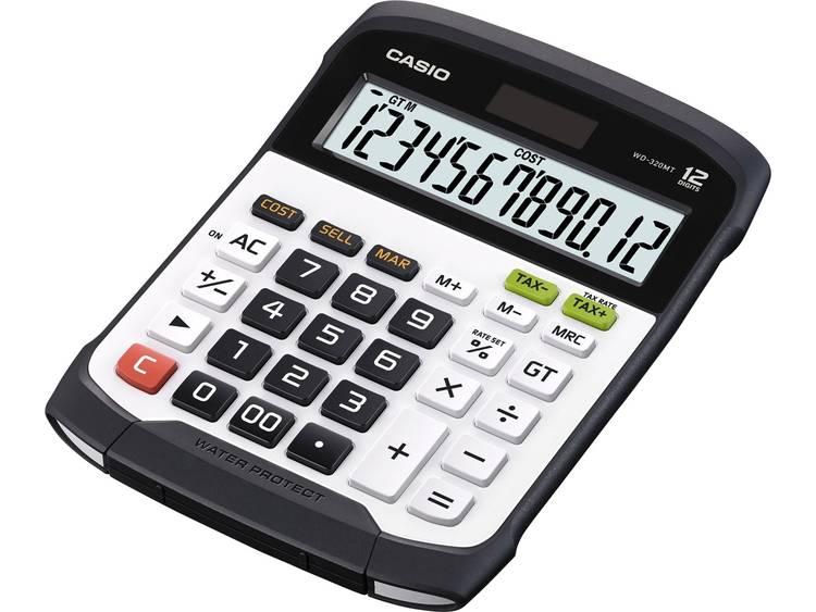 Bureaurekenmachine Casio WD 320MT Zilver zwart Aantal displayposities 12 werkt