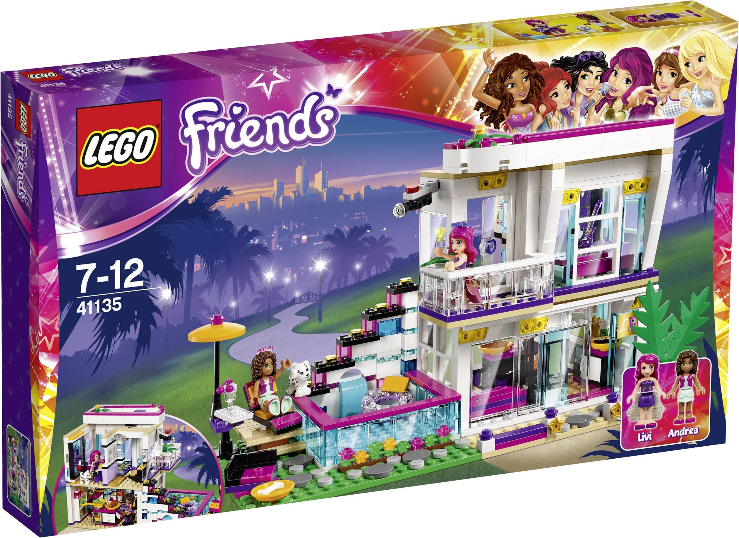 Lego friends livi s popsterrenhuis conrad
