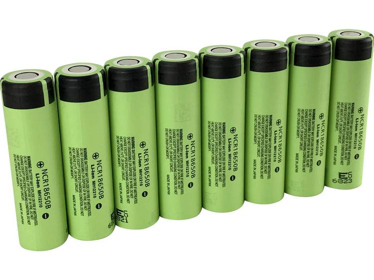 Panasonic NCR18650B Speciale oplaadbare batterij 18650 Li-ion 3.7 V 3350 mAh
