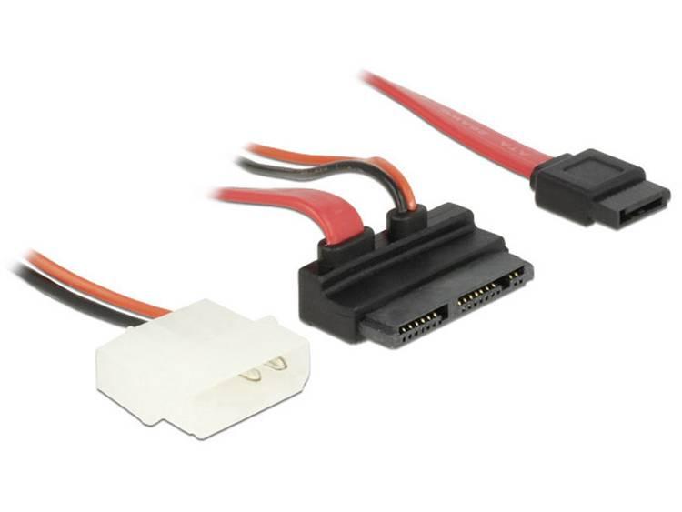 DeLOCK SATA-Kabel Delock SATA Micro 16pin -> SATA 7pin +2pin Molex (83911)