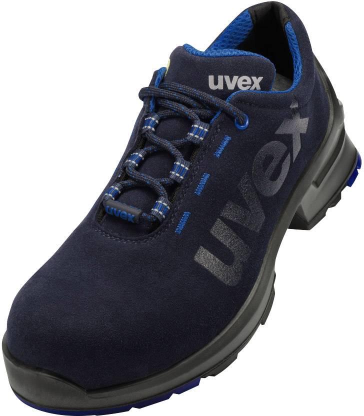 Uvex Werkschoenen.Uvex 1 8534843 Lage Veiligheidsschoen S2 Maat 43 Zwart Blauw 1