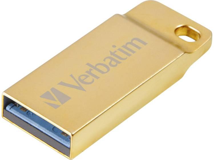 Verbatim METAL EXECUTIVE USB-stick 64 GB USB 3.0 Goud 99106