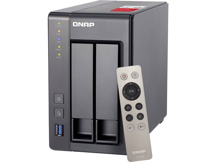 QNAP TS-251+-2G TS-251+-2G NAS-serverbehzuizing