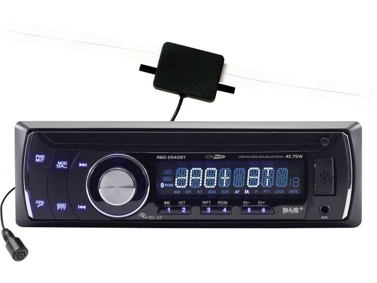 Caliber Audio Technology Enkel Din autoradio 4 x 75 W USB, SD, Jackplug, Bluetooth