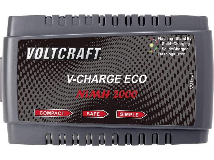 VOLTCRAFT V-Charge Eco NiMh 2000 Modelbouw oplader 230 V 2 A NiMH, NiCd