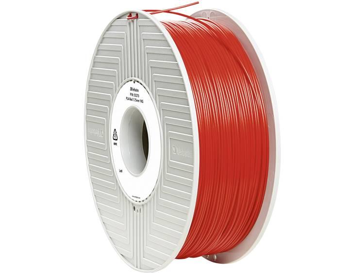 Verbatim Verbatim 3D Printer Filament PLA 1,75 mm 1 kg rood (55270)