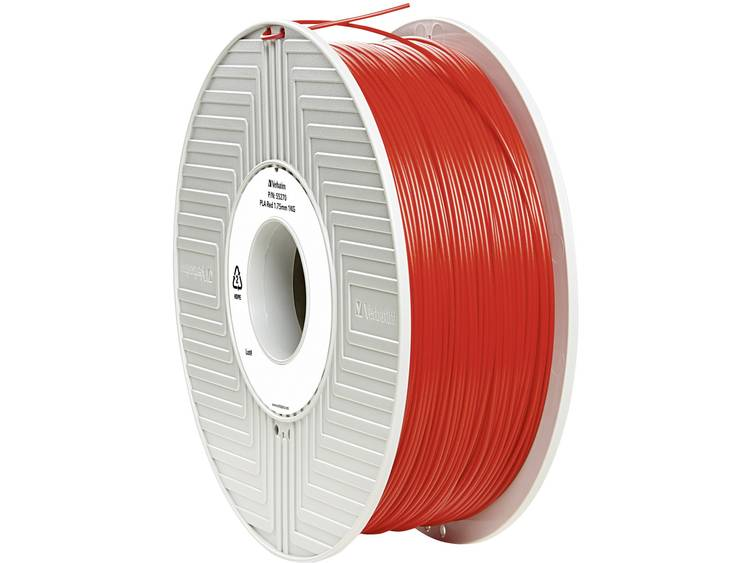 Verbatim Verbatim 3D Printer Filament PLA 1,75 mm 1 kg rood (55270)
