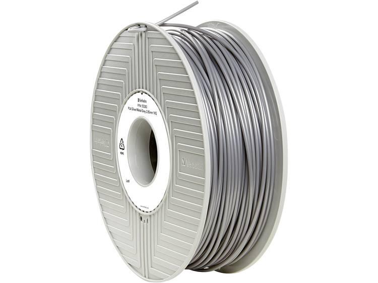 Filament Verbatim 55283 PLA kunststof 2.85 mm Zilver-metallic (mat) 1 kg