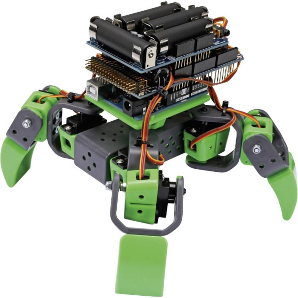 Whadda Robot byggsats ALLBOT® mit vier Beinen VR408 Byggsats VR408