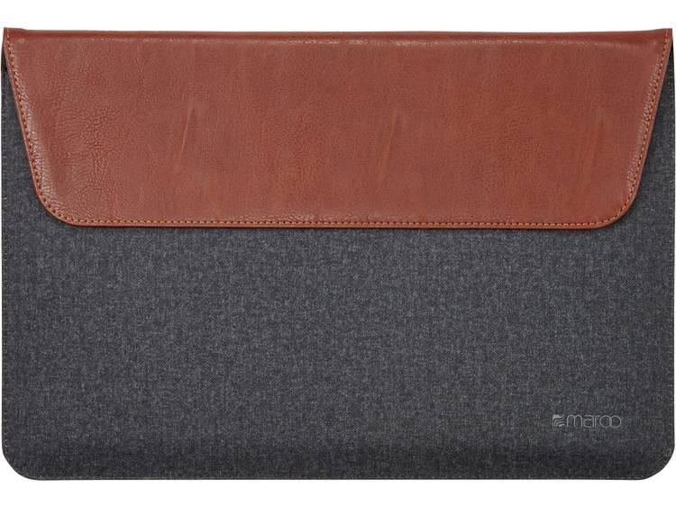 Maroo Sleeve Model-specifieke tablethoes Microsoft Surface Pro 3, Microsoft Surface Pro 4 Zwart, Bruin