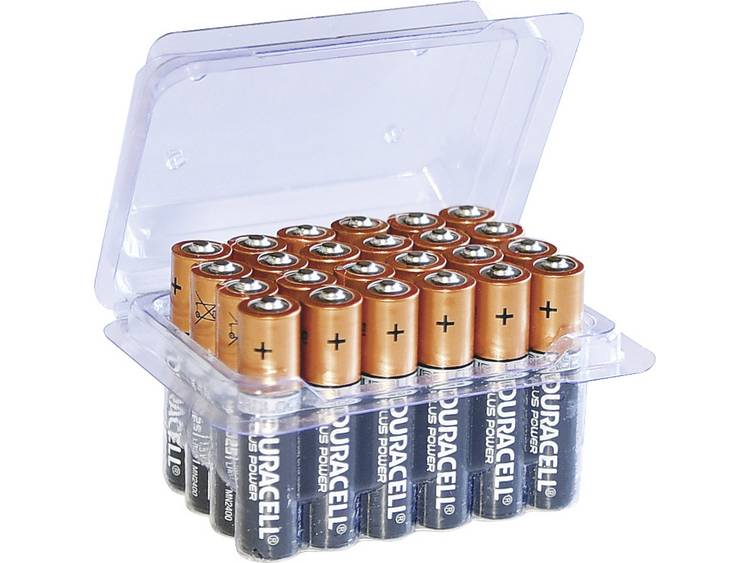 AAA batterij (potlood) Duracell Plus Power LR03 Box Alkaline 1.5 V 24 stuk(s)