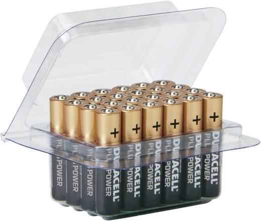 AAA batterij (potlood) Duracell Plus LR03 Box Alkaline 1.5 V 24 stuks