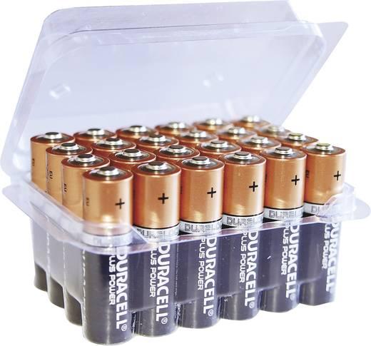 AA batterij (penlite) Duracell Plus Power LR06 Box Alkaline 1.5 V 24 stuks