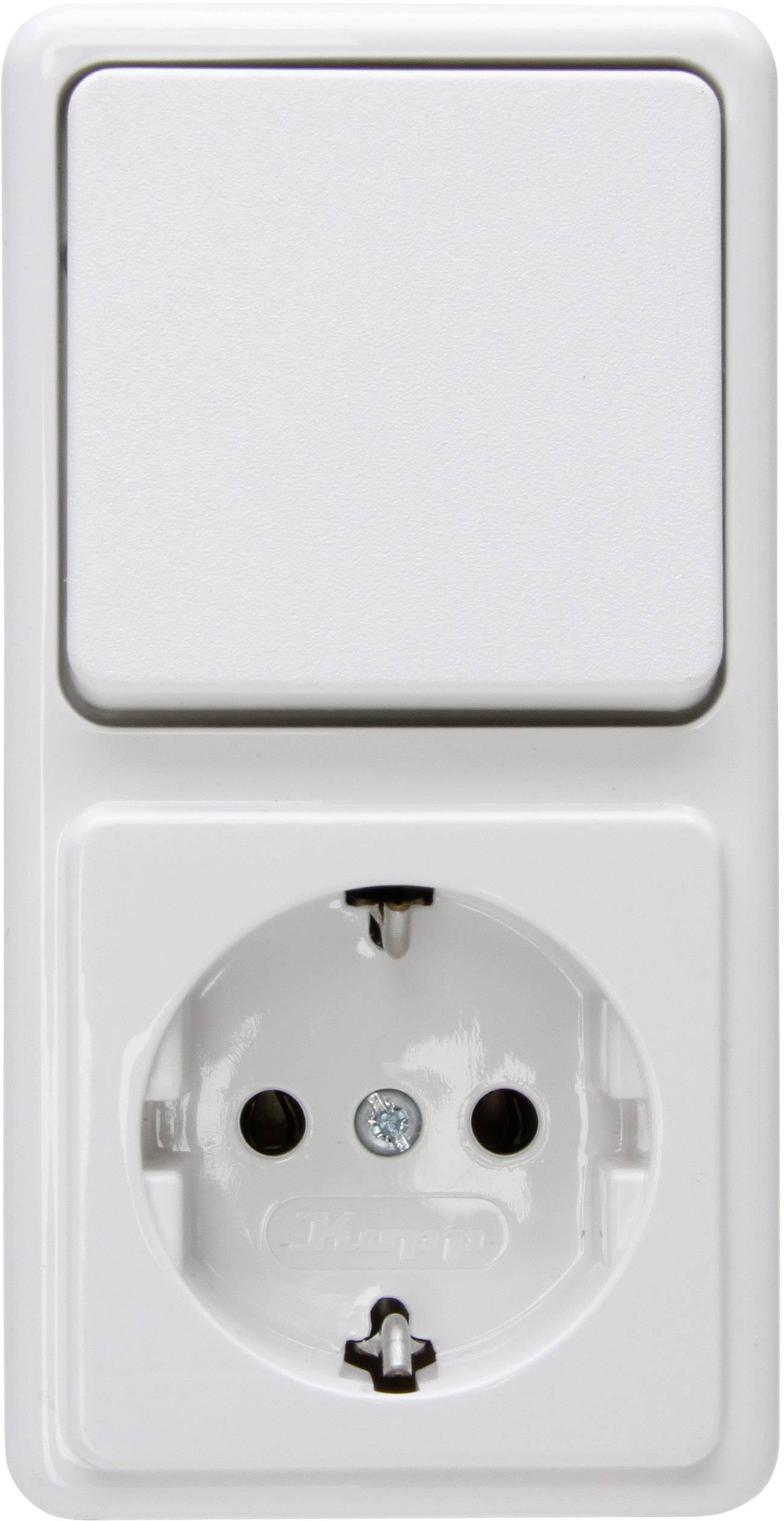 Geliefde Schakel-/stopcontact combinatie Kopp 108802007 Opbouw-standaard MB21