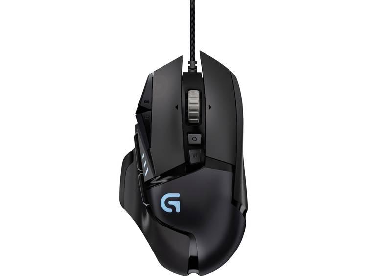 Logitech G USB game-muis Optisch Zwart