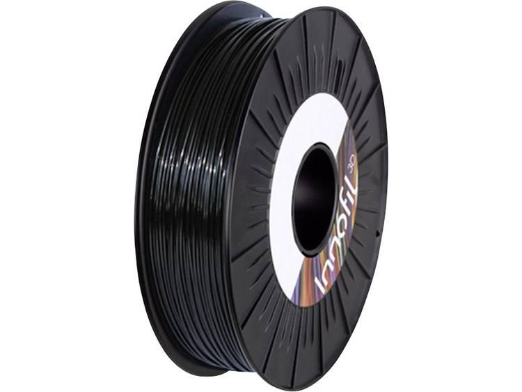 Filament Innofil 3D FL45-2008A050 PLA compound, Flexibel filament 1.75 mm Zwart 500 g