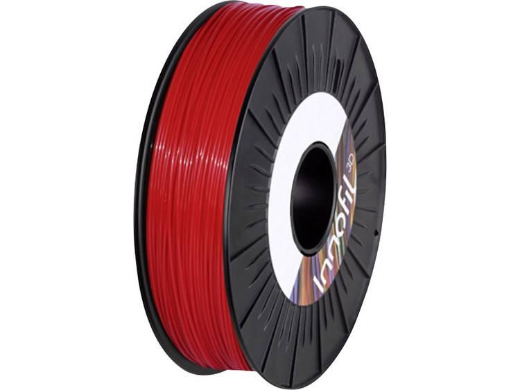 Filament Innofil 3D FL45-2009B050 PLA compound, Flexibel filament 2.85 mm Rood 500 g