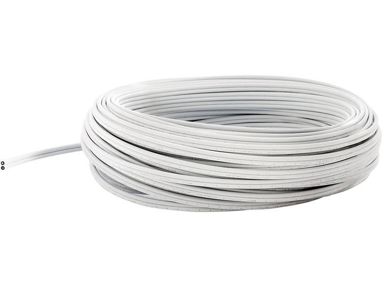 POF-kabel fuba 29104063 980/1000µ Simplex Wit 50 m