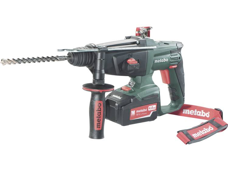 Accucombihamer Metabo KHA 18 LTX SDS-Plus 18 V 5.2 Ah Li-ion Incl. 2 accus, Incl. koffer
