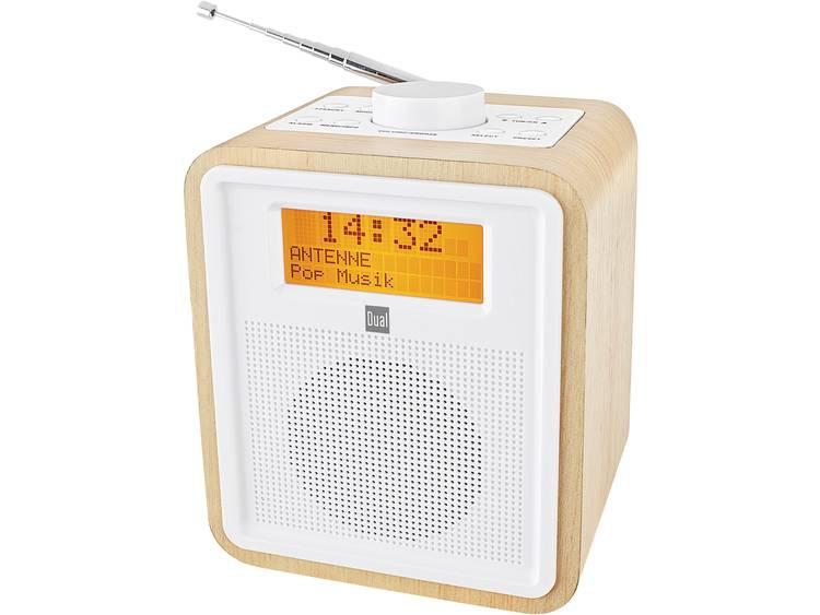 Dual DAB+ radio Wekkerradio Hout