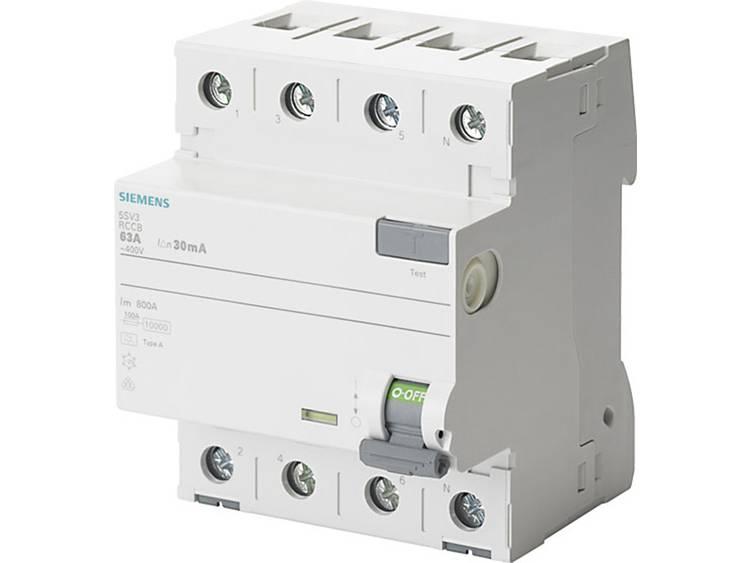 Siemens aardlekschakelaar 40a 4p kl a