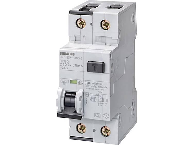 Siemens aardlekautomaat 6a b kar 230v