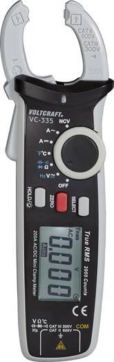 VOLTCRAFT VC-335 Multimeter, Stroomtang Digitaal Kalibratie: Zonder certificaat CAT II 600 V, CAT III 300 V Weergave (c